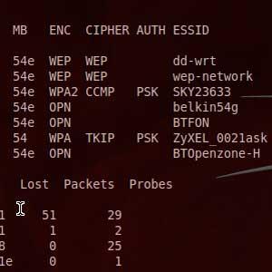 五分钟破解 WEP 无线网络