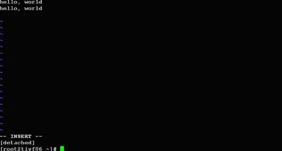 linux 技巧:使用 screen 管理你的远程会话