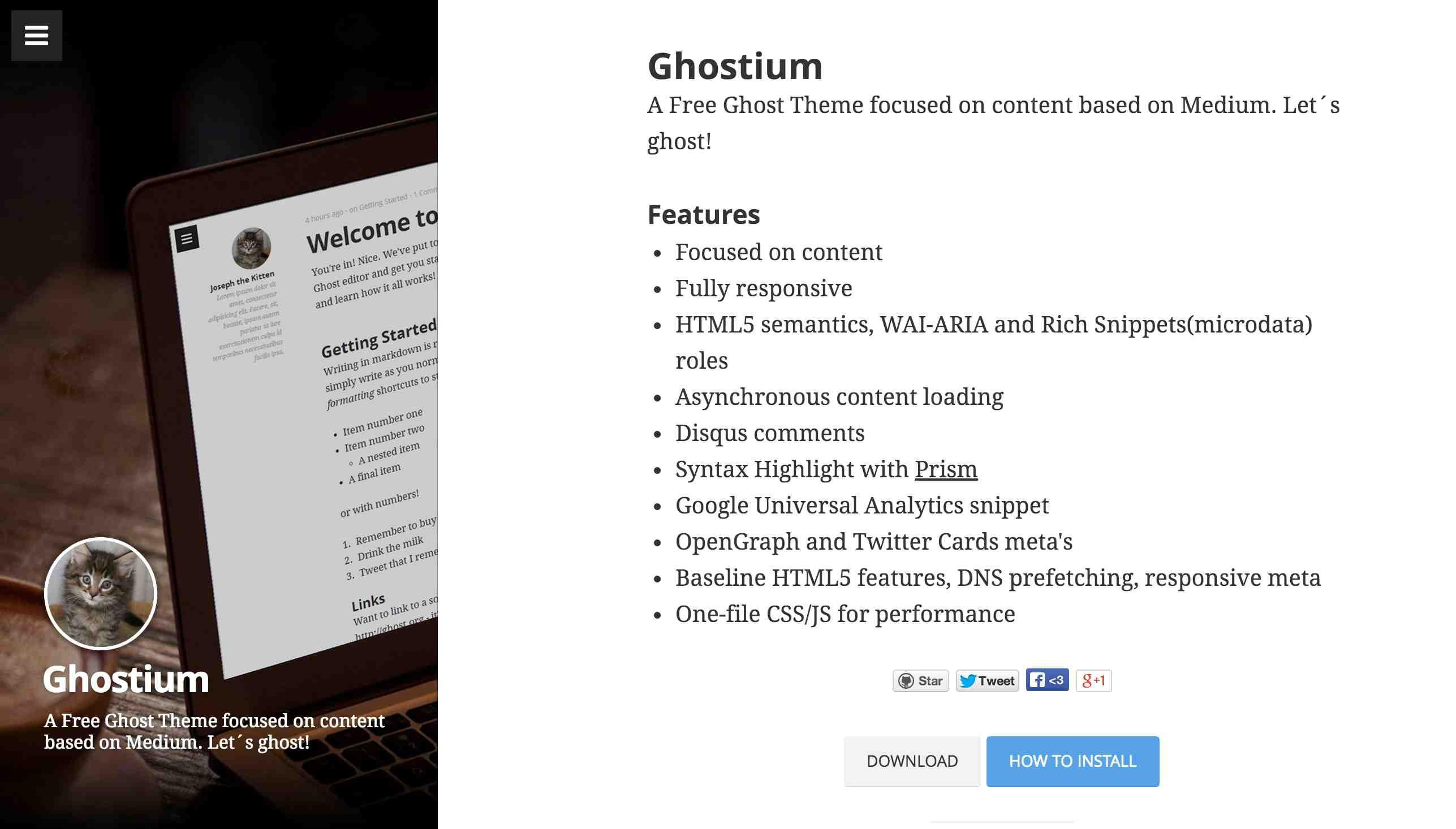 最佳仿 Medium 免费 Ghost 主题推荐