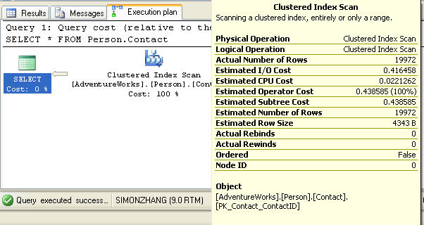 SQL执行计划解析(2)- 基本查询的图形执行计划(上)