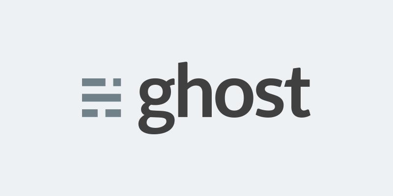 欢迎使用 Ghost