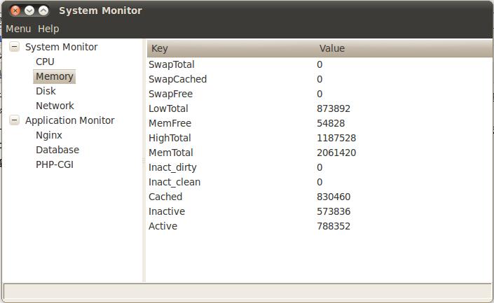 linux下的系统监控程序(Python+wxPython)-爱开源