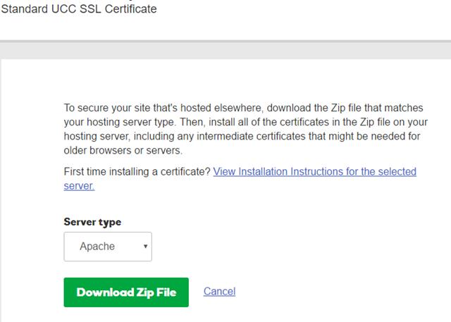 GoDaddy 申请SSL证书 Nginx版